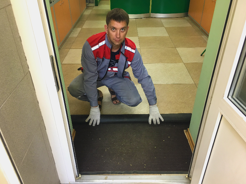 Грязезащитные влаговпитывающие ковры в Севастополе Симферополе 1-01